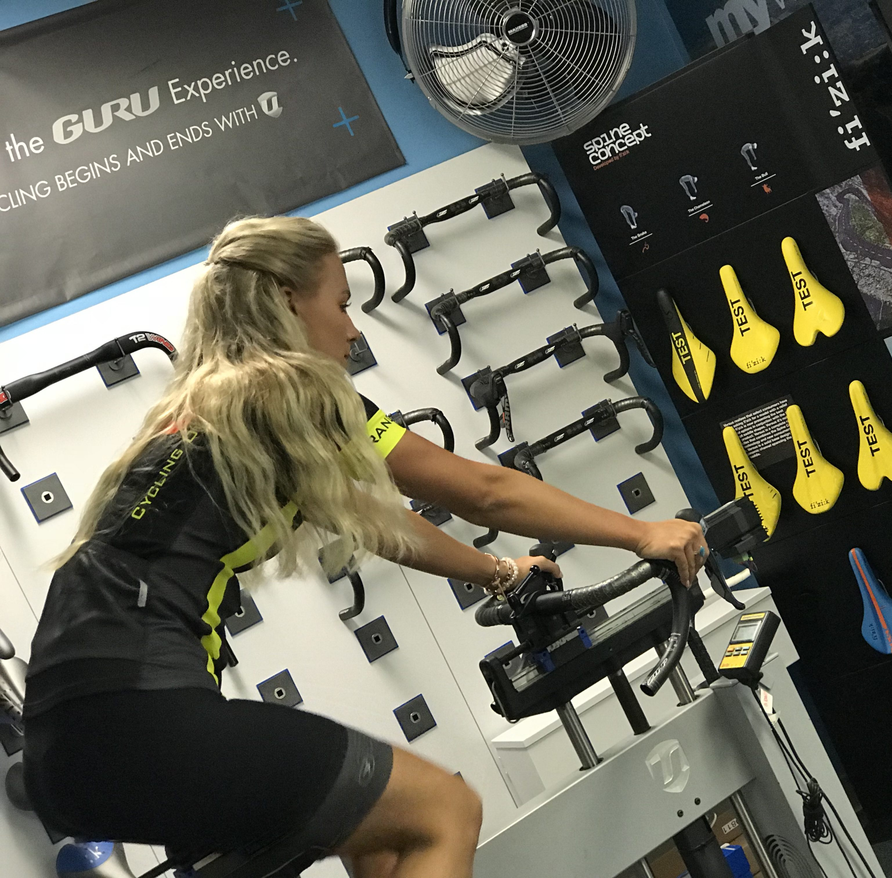 Detailed multi-stage fit with our Guru Dynamic Fit Machine