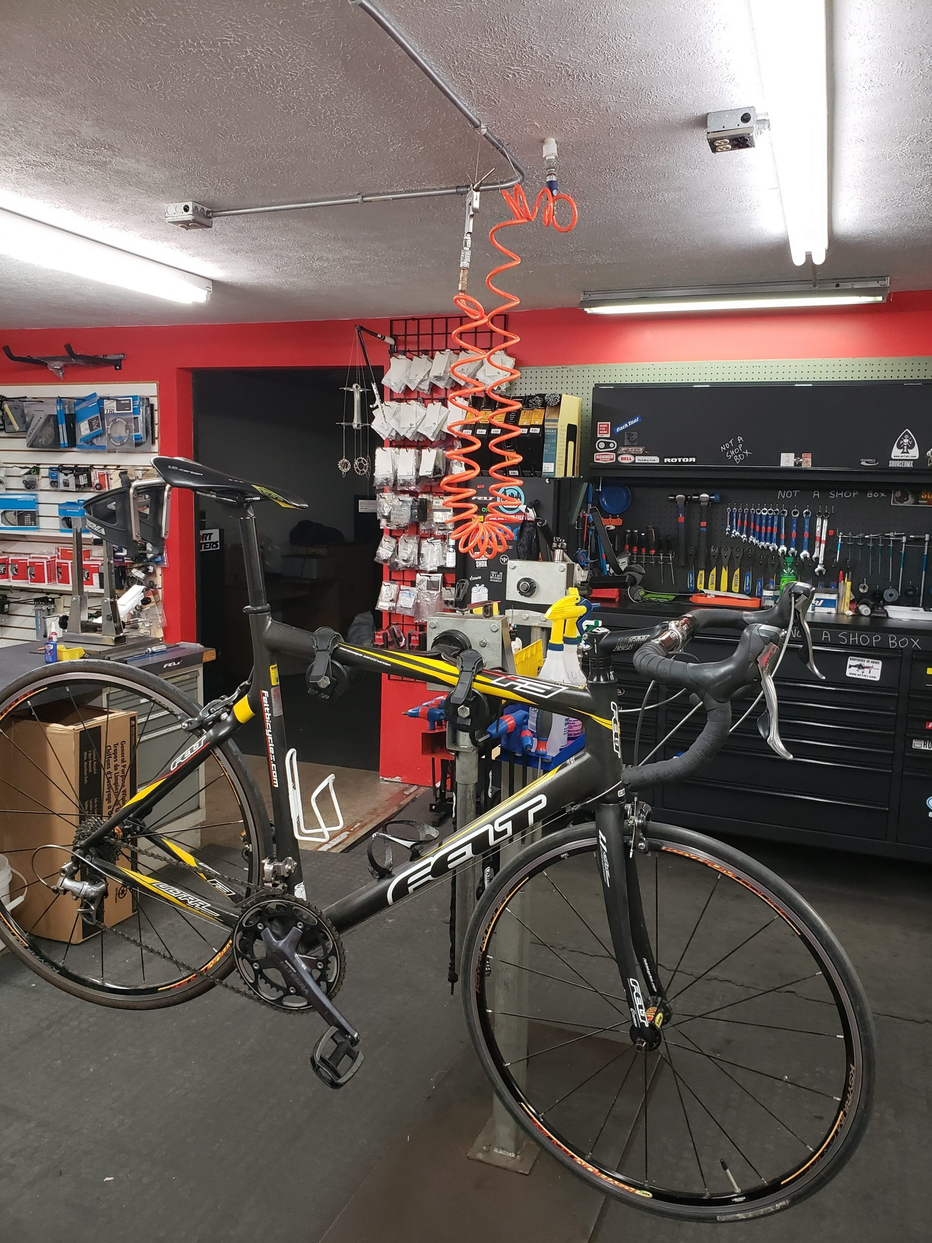 Basic Tune-Up - $79.99* Overall adjustments ($125 includes all new cables and housings ) Basic Tune-Up for Tandems $94.99)